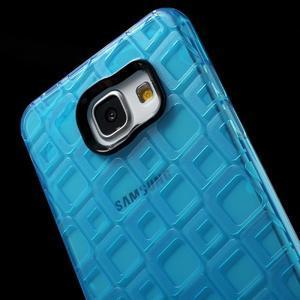 Square gelový obal na mobil Samsung Galaxy A5 (2016) - modrý - 5