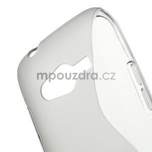 Gelové s-line pouzdro na Samsung Galaxy Ace 4 - šedé - 5