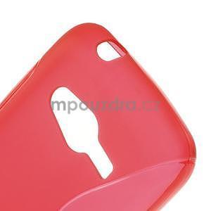 Gelové s-line pouzdro na Samsung Galaxy Ace 4 - červené - 5