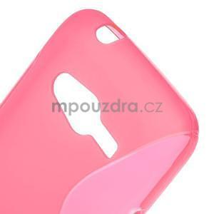 Gelové s-line pouzdro na Samsung Galaxy Ace 4 - růžové - 5
