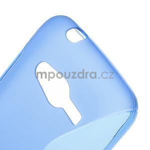 Gelové s-line pouzdro na Samsung Galaxy Ace 4 - modré - 5