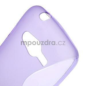 Gelové s-line pouzdro na Samsung Galaxy Ace 4 - fialové - 5