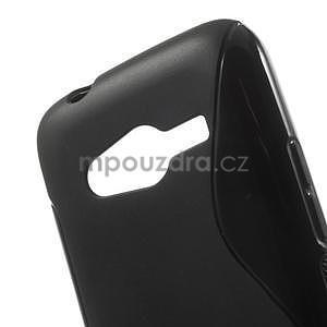 Gelové s-line pouzdro na Samsung Galaxy Ace 4 - černé - 5