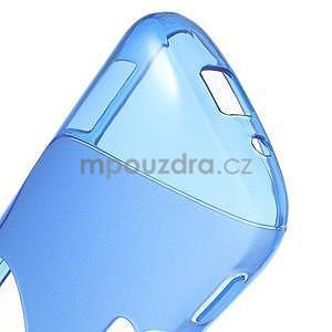 Modrý s-line gelový kryt na Samsung Galaxy K Zoom C115 - 5