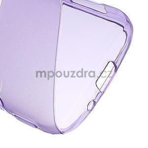 Fialový s-line gelový kryt na Samsung Galaxy K Zoom C115 - 5