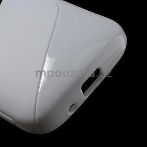 Bílý s-line gelový kryt na Samsung Galaxy K Zoom C115 - 5