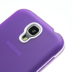 Gelové pouzdro 2v1 na Samsung Galaxy S4 - fialové - 5