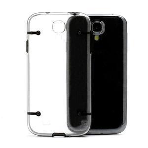 Obal na mobil se svítícími hranami na Samsung Galaxy S4 - černé - 5