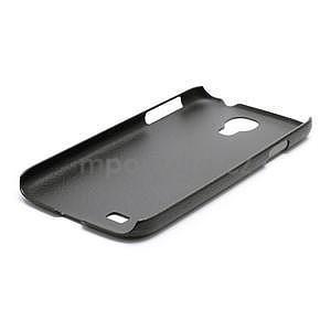 Plastové poudro na Samsung Galaxy S4 - černé - 5