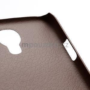 Plastové poudro na Samsung Galaxy S4 - hnedé - 5