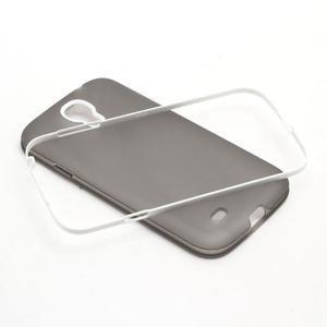 Gelové pouzdro 2v1 na Samsung Galaxy S4 - šedé - 5