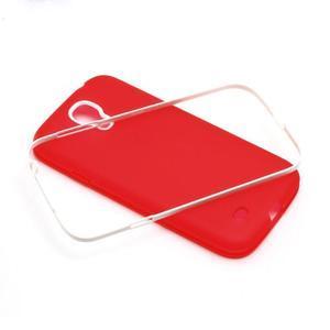 Gelové pouzdro 2v1 na Samsung Galaxy S4 - červené - 5