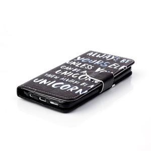 Cross peněženkové pouzdro na Samsung Galaxy S7 - unicorn - 5