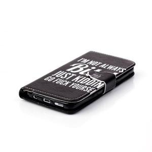 Cross peněženkové pouzdro na Samsung Galaxy S7 - bitch - 5