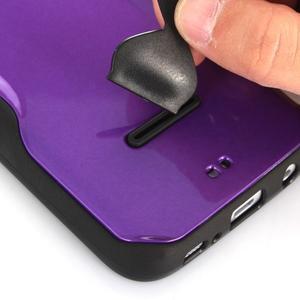 Odolný hybridní kryt na mobil Samsung Galaxy S7 - modrý - 5