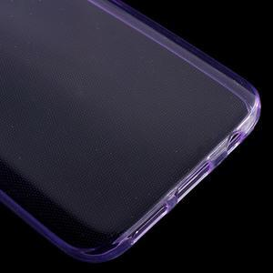 Ultratenký gelový obal na mobil Samsung Galaxy S7 - fialový - 5