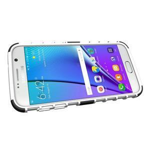 Outdoor odolný obal na mobil Samsung Galaxy S7 - bílý - 5