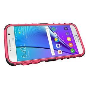Outdoor odolný obal na mobil Samsung Galaxy S7 - rose - 5