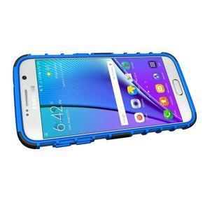 Outdoor odolný obal na mobil Samsung Galaxy S7 - modrý - 5
