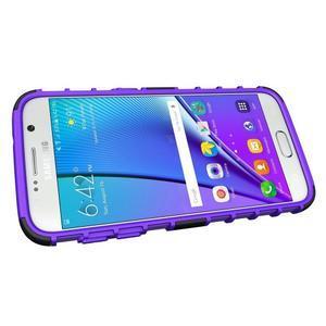 Outdoor odolný obal na mobil Samsung Galaxy S7 - fialový - 5