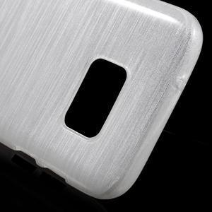 Brush gelový obal na mobil Samsung Galaxy S7 - bílý - 5
