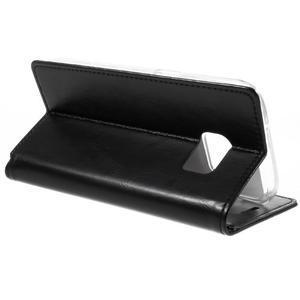 Bluemoon PU kožené pouzdro na mobil Samsung Galaxy S7 - černé - 5