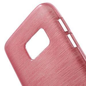 Brush gelový obal na mobil Samsung Galaxy S7 - růžový - 5