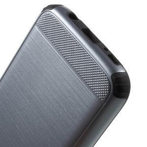 Dvoudílný odolný kryt na Samsung Galaxy S7 - šedý - 5