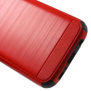 Dvoudílný odolný kryt na Samsung Galaxy S7 - červený - 5