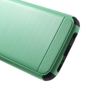 Dvoudílný odolný kryt na Samsung Galaxy S7 - cyan - 5