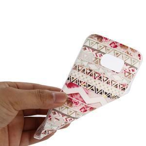 Pictu gelový obal na mobil Samsung Galaxy S7 - geo tvary - 5