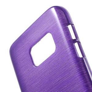 Brush gelový obal na mobil Samsung Galaxy S7 - fialový - 5