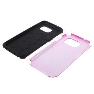 Odolný dvoudílný obal na Samsung Galaxy S7 edge - rose - 5