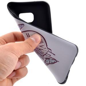 Backy gélový obal pre Samsung Galaxy S7 edge - hodiny - 5