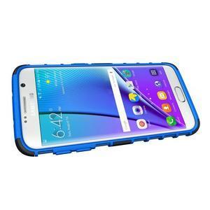 Odolný outdoor kryt na Samsung Galaxy S7 edge - modrý - 5