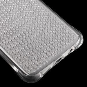 Glitter gelový obal na Samsung Galaxy S7 edge - transparentní - 5