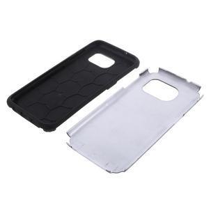 Odolný dvoudílný obal na Samsung Galaxy S7 edge - černý - 5