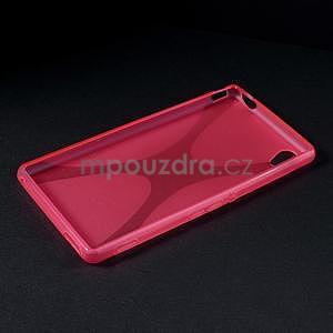 Rose gelový obal na Sony Xperia M4 Aqua - 5