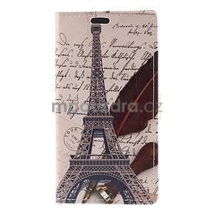 Peněženkové pouzdro na Sony Xperia M4 Aqua - Eiffelova věž - 5