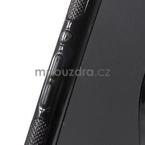 Černý s-line pružný obal na Sony Xperia M4 Aqua - 5