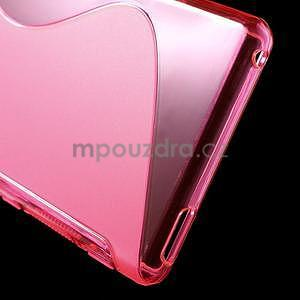 Rose s-line pružný obal na Sony Xperia M4 Aqua - 5