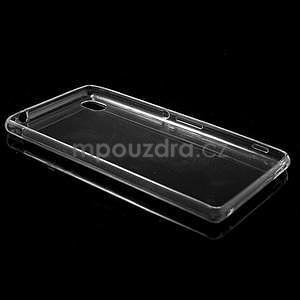 Transparnetní ultra tenký obal na Sony Xperia M4 Aqua - 5