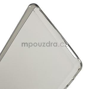 Šedý ultra tenký obal na Sony Xperia M4 Aqua - 5