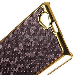 Elegantní obal na mobil Sony Xperia Z1 Compact - fialový - 5