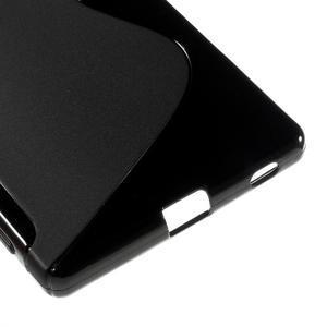 Sline gelový kryt na mobil Sony Xperia Z5 - černý - 5