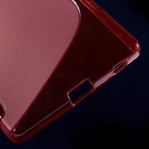 Sline gelový kryt na mobil Sony Xperia Z5 - červený - 5