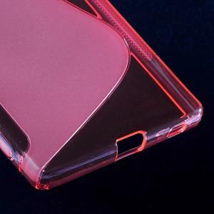 Sline gelový kryt na mobil Sony Xperia Z5 - rose - 5