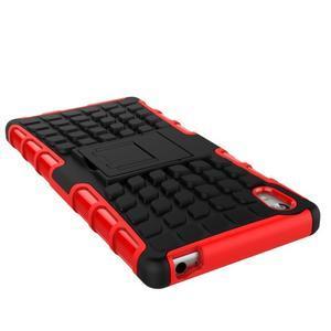 Outdoor odolný obal na Sony Xperia Z5 - červený - 5
