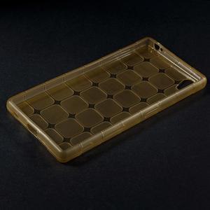 Square gelový obal na Sony Xperia Z5 - zlatý - 5