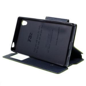 Diary pouzdro s okýnkem na Sony Xperia Z5 - zelené - 5